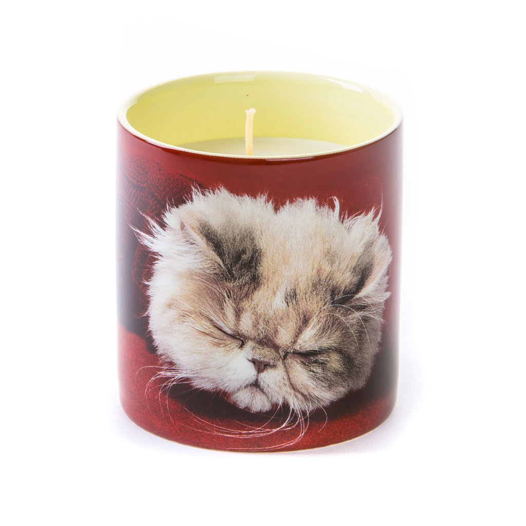Seletti Wears Toiletpaper Magazine Candle Fluffy