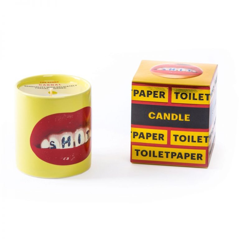Seletti Wears Toiletpaper Magazine Candle Teeth