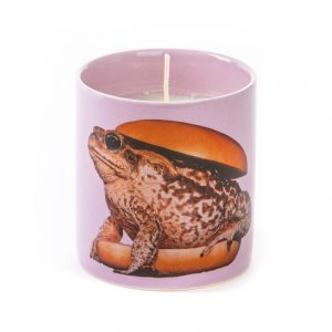 Seletti Wears Toiletpaper Magazine Candle Toad