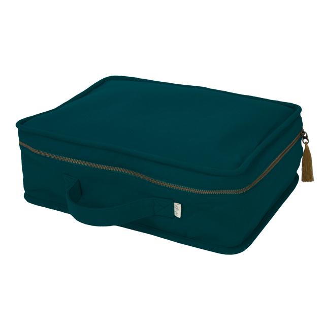 Numero 74 Suitcase Teal Blue
