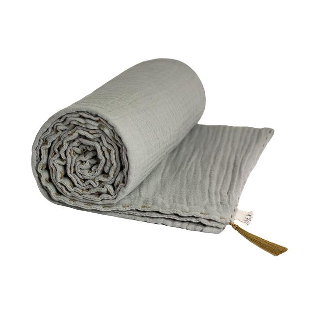 Numero 74 Summer Blanket Silver Grey