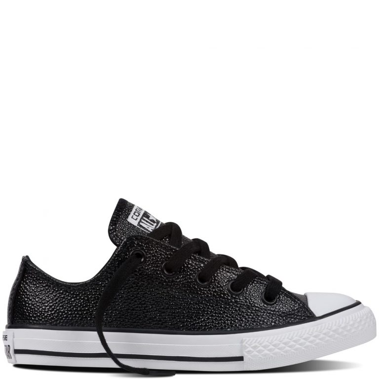Converse CT Low Youth Metallic Black