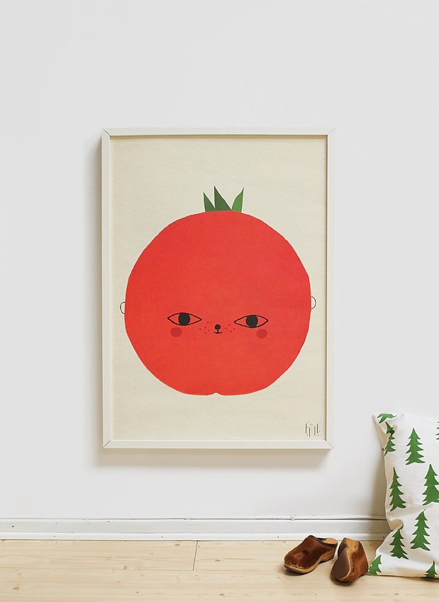 Fine Little Day Poster Tomato