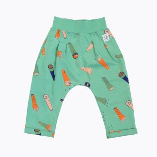 Indikidual Torches Harem Pant Green