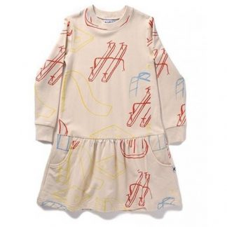 Minti Playground Furry Dress Fawn