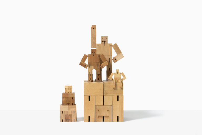 Areaware Cubebot Extra Large Natural