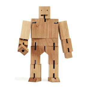 Areaware Cubebot Medium Natural
