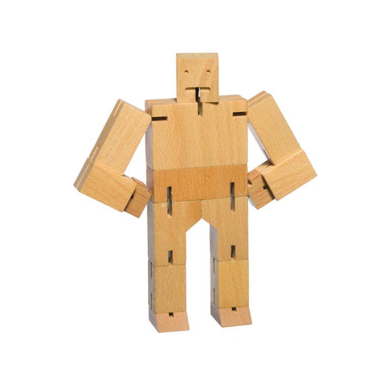 Areaware Cubebot Micro Natural