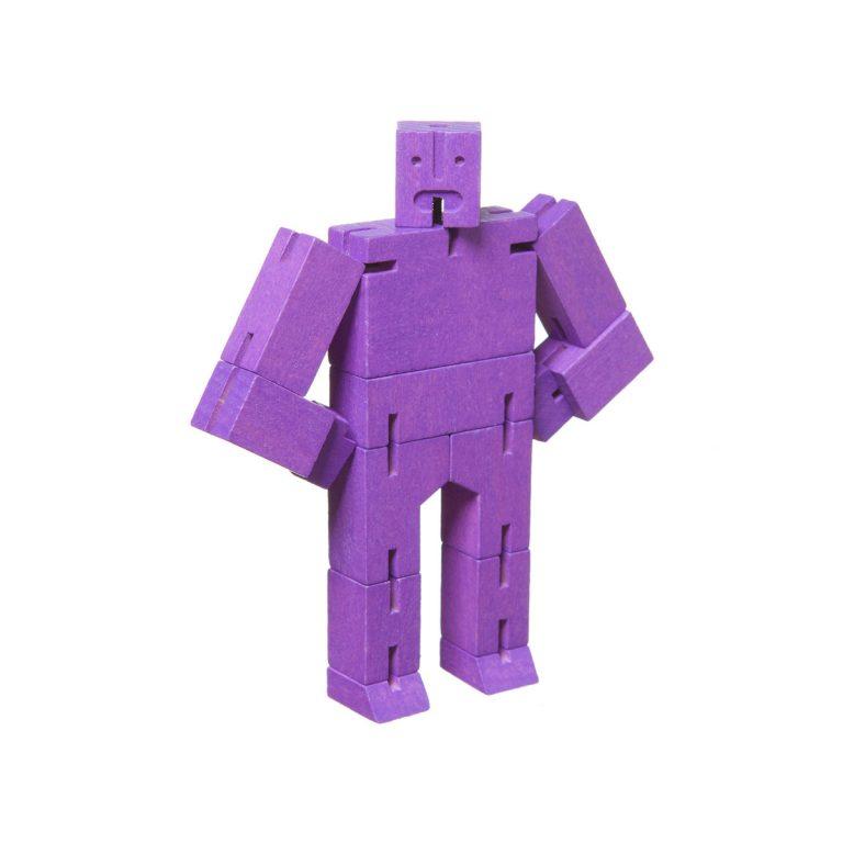 Areaware Cubebot Micro Violet