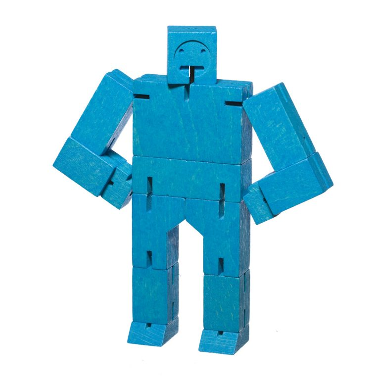 Areaware Cubebot Small Blue