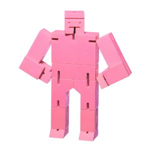 Areaware Cubebot Small Pink