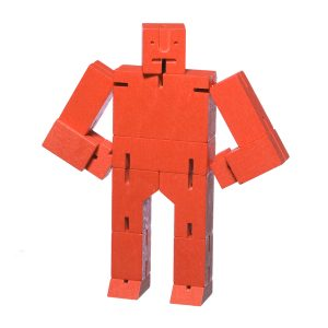 Areaware Cubebot Small Red
