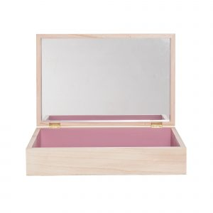 Bloomingville Storage Box Natural Mauve