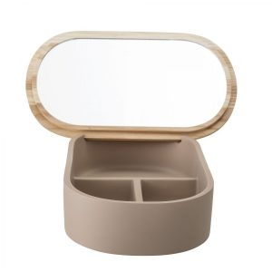 Bloomingville Storage Box With Lid Brown