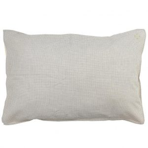 Camomile London Pillowcase Double Check Grey