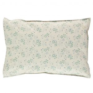 Camomile London Pillowcase Minako Floral Cornflower