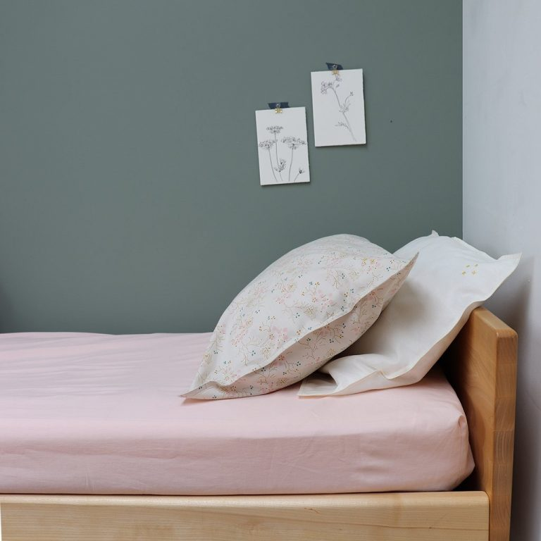 Camomile London Pillowcase Minako Floral Golden
