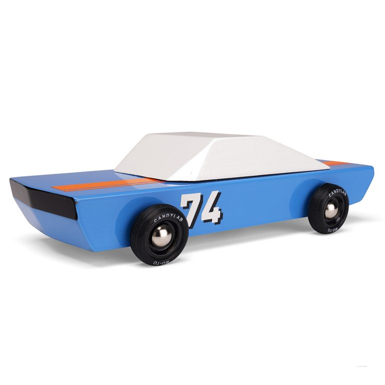Candylab Blu74 Wooden Car