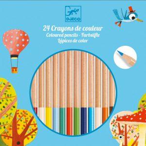 Djeco Coloured Pencils x 24