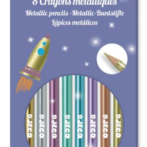 Djeco Metallic Pencils x 8