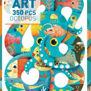 Djeco Octopus Art Puzzle 350pc