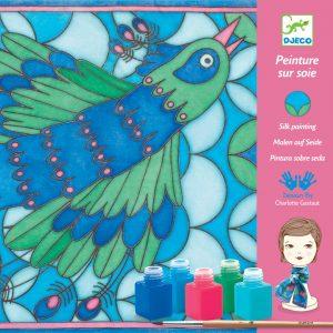 Djeco Peacock Silk Printing