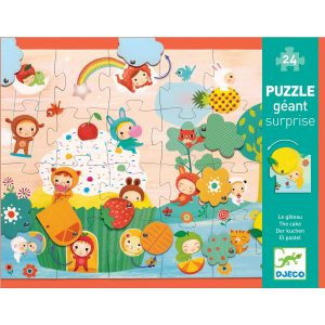 Djeco The Cake Giant Puzzle 24pc