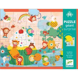 Djeco The Cake Giant Puzzle 24pc