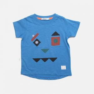 Indikidual Pieces Tee Blue