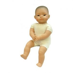 Miniland Soft Bodied Asian Baby Doll 40cm