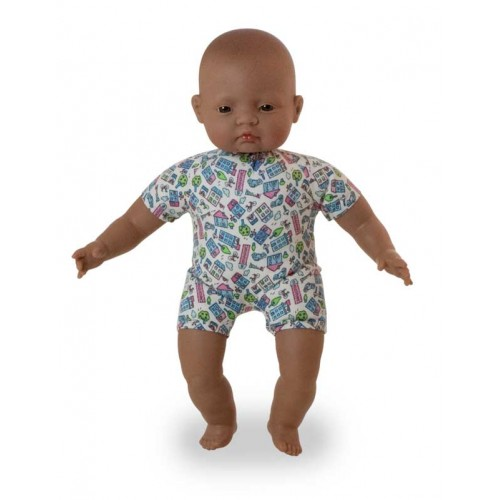 Miniland Soft Bodied Latin American Baby Doll 40cm