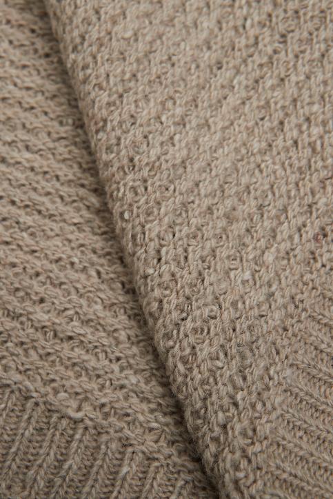 Bloomingville Wool Throw Brown