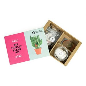 Tech Will Save Us DIY Thirsty Plant Kit