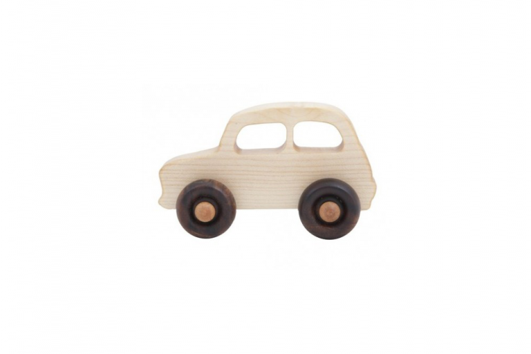 Wooden Story Little French Car