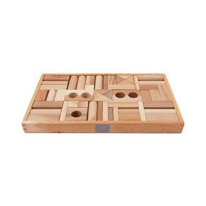 Wooden Story Natural Blocks 54pc