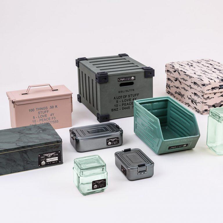 Diesel Trunk Wooden Box