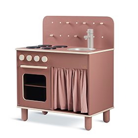Flexa Toys The Kitchen Dark Rose