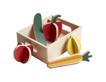 Flexa Toys Vegetables Play Set