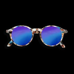 Izipizi (See Concept) Adult Mirror Sunglasses Blue Tortoise Shape D
