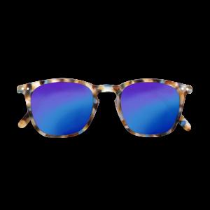 Izipizi (See Concept) Adult Mirror Sunglasses Blue Tortoise Shape E
