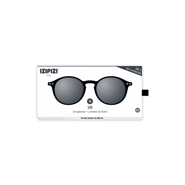 Izipizi (See Concept) Adult Sunglasses Black Shape D