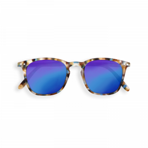 Izipizi (See Concept) Junior Mirror Sunglasses Blue Tortoise Shape E