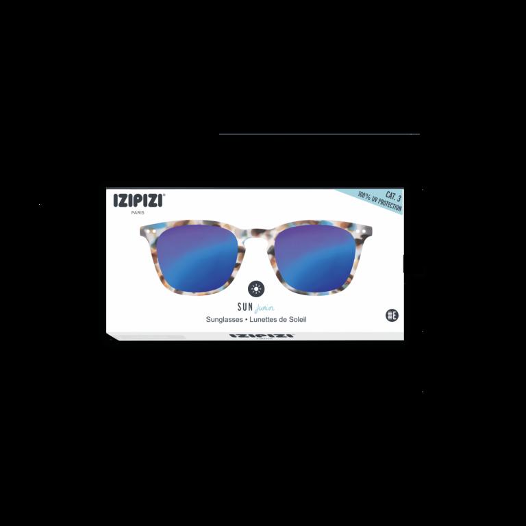 Izipizi (See Concept) Junior Mirror Sunglasses Blue Tortoise Shape E