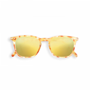 Izipizi (See Concept) Junior Mirror Sunglasses Yellow Tortoise Shape E