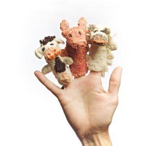 Kenana Knitters Finger Puppets Shamba