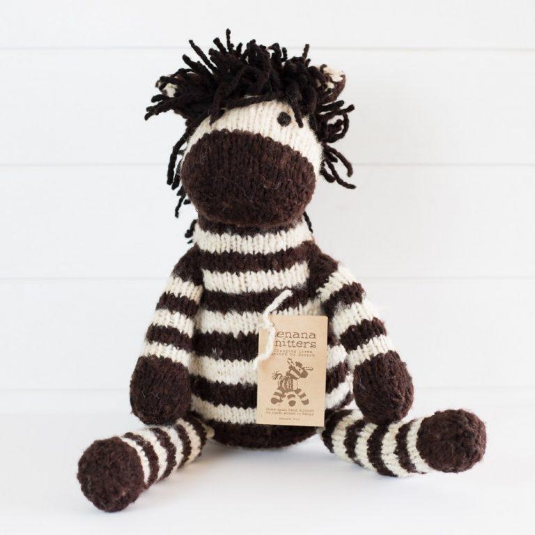 Kenana Knitters Giants Zebra Large