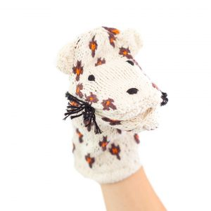 Kenana Knitters Hand Puppets Leopard