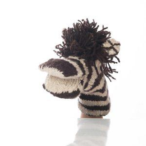 Kenana Knitters Hand Puppets Zebra