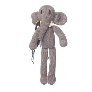 Kenana Knitters Organic Cotton Spider Elephant