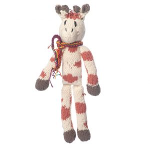 Kenana Knitters Organic Cotton Spider Giraffe